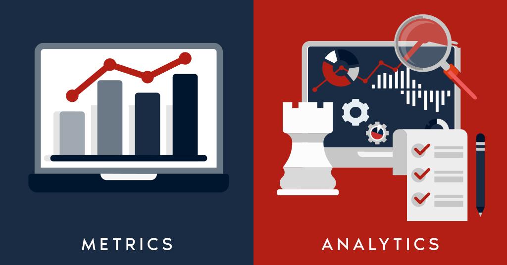 Metrics Vs. Analytics